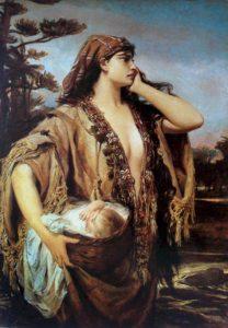 МОИСЕЙ И ИОХАВЕДА. 1884 г. ХУД. ПЕДРУ АМЕРИКУ (1843–1905)