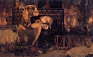 СМЕРТЬ ПЕРВЕНЦА ФАРАОНА. ХУД. ЛОУРЕНС АЛЬМА-ТАДЕМА (1836–1912)