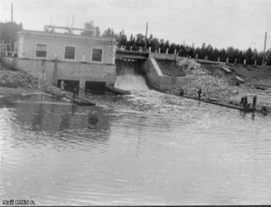 СТАРАЯ ВЫРИЦА. ГЭС. 1960 г.