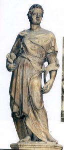 ИИСУС НАВИН. СКУЛЬПТУРА НА КОЛОКОЛЬНЕ СОБОРА ВО ФЛОРЕНЦИИ. ХУД. ДОНАТЕЛЛО (1386-1466)