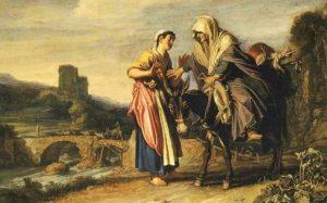 РУФЬ И НОЕМИНЬ. 1614 г. ХУД. ПИТЕР ЛАСТМАН (1583–1633)