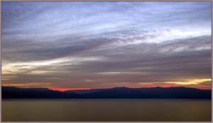 Горы Моава за Мертвым морем