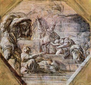 ВВЕДЕНИЕ САМУИЛА ВО ХРАМ. ХУД АЛЕССАНДРО ТИАРИНИ (1577–1668)