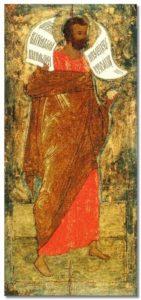 ПРОРОК ГЕДЕОН. ИКОНА. 1405 г. ХУД. ФЕОФАН ГРЕК (1340–около 1410)