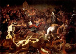 БИТВА ГЕДЕОНА С МАДИАНИТЯНАМИ. ХУД. НИКОЛЯ ПУССЕН (1594–1665)