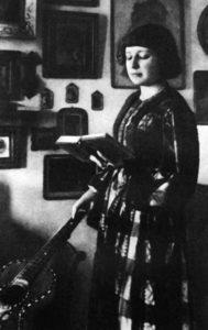 МАРИНА ЦВЕТАЕВА. ФЕОДОСИЯ. 1914г.