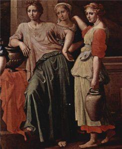 РЕВЕККА И ЕЛИАЗАР. 1648 г. ХУД. НИКОЛЯ ПУССЕН (1594–1665)