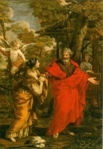 ВОЗВРАЩЕНИЕ АГАРИ. ХУД. ПЬЕТРО ДА КОРТОНА (1596-1669)