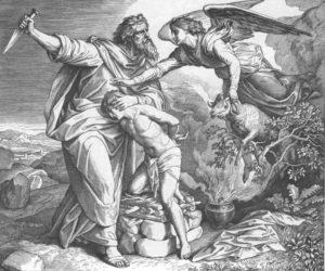 АВРААМ ПРИНОСИТ В ЖЕРТВУ ИСААКА ХУД. Ю. Ш. ФОН КАРОЛЬСФЕЛЬД (1794–1872)