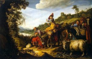 АВРААМ НА ПУТИ В ХАНААН. 1614 г. ХУД. ПИТЕР ЛАСТМАН (1583–1633)