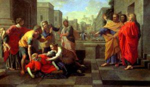 СМЕРТЬ САРРЫ. ХУД. НИКОЛА ПУССЕН (1594–1665)