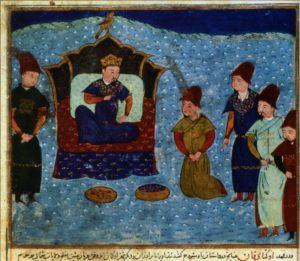 ХАН БАТЫЙ (1208-1255 гг.) ПЕРСИДСКАЯ МИНИАТЮРА