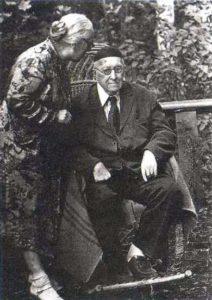 А. Ф. ЛОСЕВ И А. А. ТАХО-ГОДИ. . 23 СЕНТЯБРЯ 1954 г.