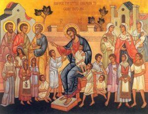 ПУСТИТЕ ДЕТЕЙ ПРИХОДИТЬ КО МНЕ... (МК. 10, 14)