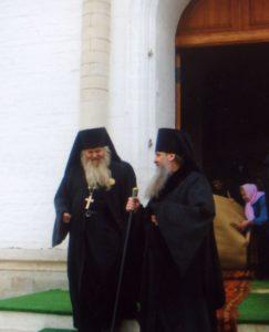 В ДЕНЬ 70-ЛЕТИЯ ОТЦА ВАЛЕРИЯ С ВЛАДЫКОЙ ТИХОНОМ