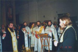 ЧИН ОТПЕВАНИЯ МАТУШКИ МАРГАРИТЫ 17 ДЕКАБРЯ 2000 г.