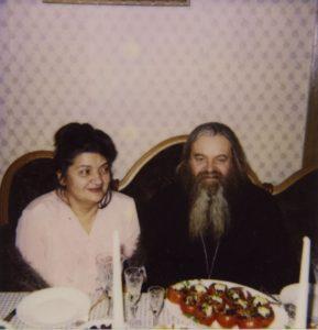 ОТЕЦ ВАЛЕРИЙ И МАТУШКА МАРГАРИТА. 1995 г.