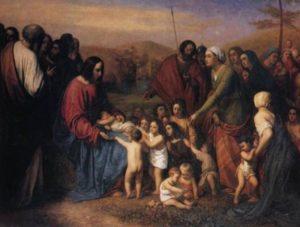 ХРИСТОС БЛАГОСЛОВЛЯЮЩИЙ. ХУД. ТОНИ РОБЕР-ФЛЁРИ (1837–1911)