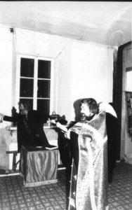 СЕЛО ЯМ. ХРАМ СВЯТЫХ МУЧЕНИКОВ ФЛОРА И ЛАВРА. НАЧАЛО СЛУЖЕНИЯ ОТЦА ВАЛЕРИЯ. 15 АПРЕЛЯ 1990 г.