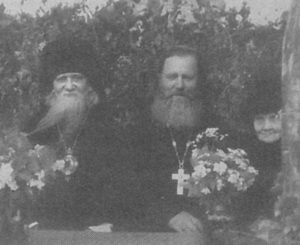ВЛАДЫКА АФАНАСИЙ, О. ИОСИФ ПОТАПОВ И МОНАХИНЯ МАРГАРИТА (ЗУЕВА)