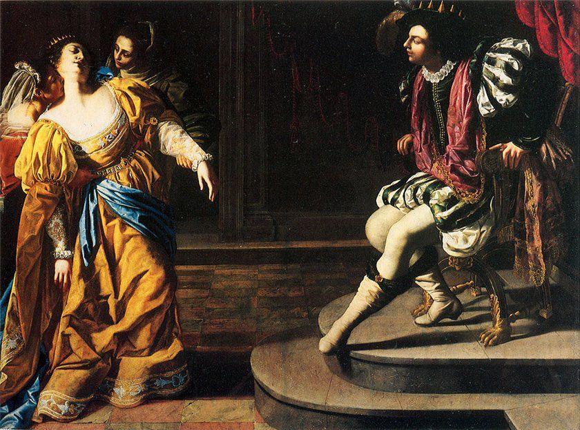 an artistic impression of artemesia gentileschi Judith slaying holofernes is a painting by the italian early baroque artist artemisia gentileschi completed between 1614–20 the work shows the scene of judith beheading holofernes, common in art since the early renaissance, as part of the group of subjects called the power of women, which show women triumphing over powerful men.